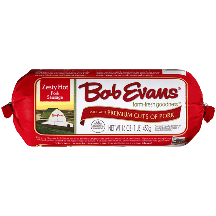 Bob Evans Zesty Hot Roll Sausage