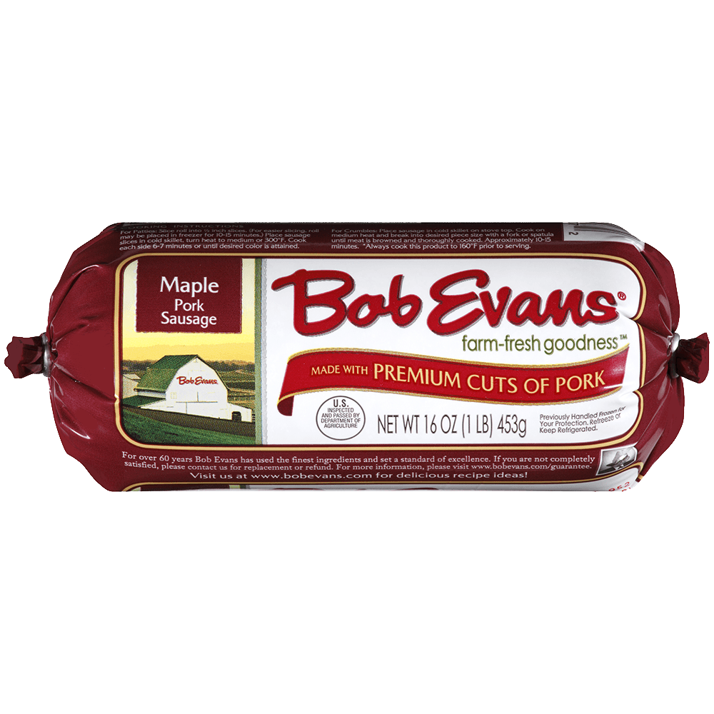 Bob Evans Maple Roll Sausage