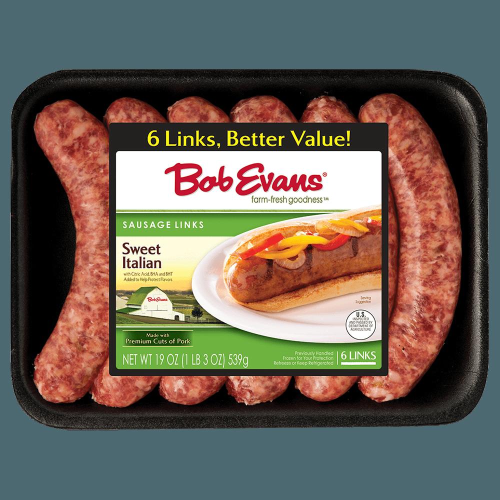 Bob Evans Sweet Italian Sausage