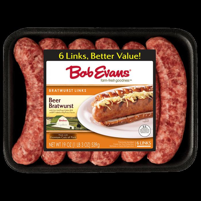 Bob Evans Beer Bratwurst