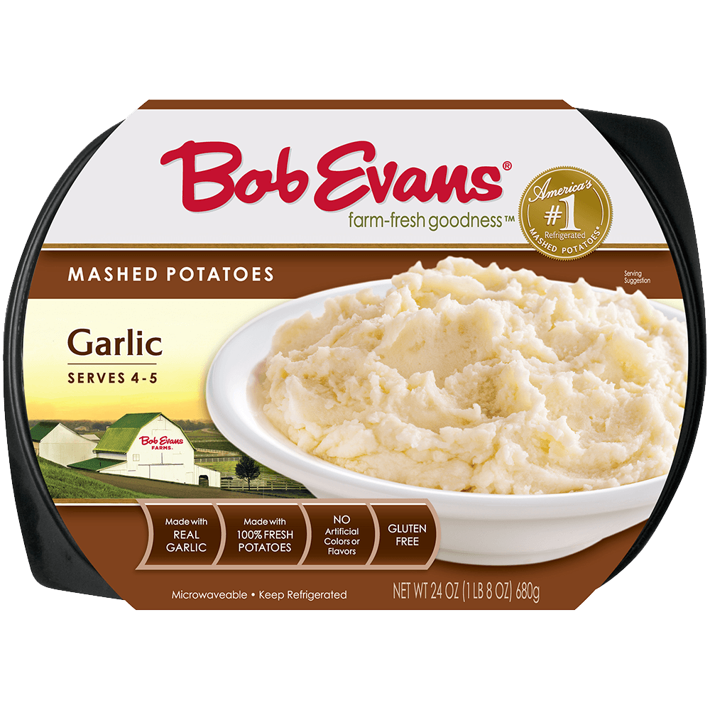 Bob Evans Garlic Mashed Potatoes