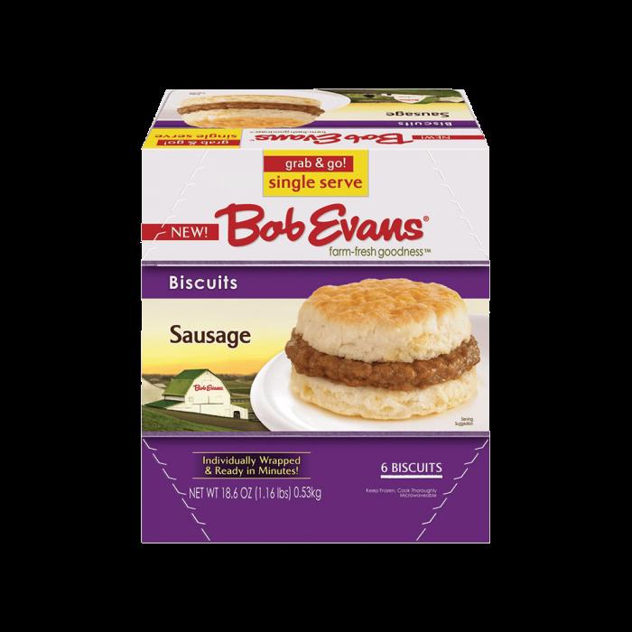 Bob Evans Frozen Sausage Biscuit 18.6 oz