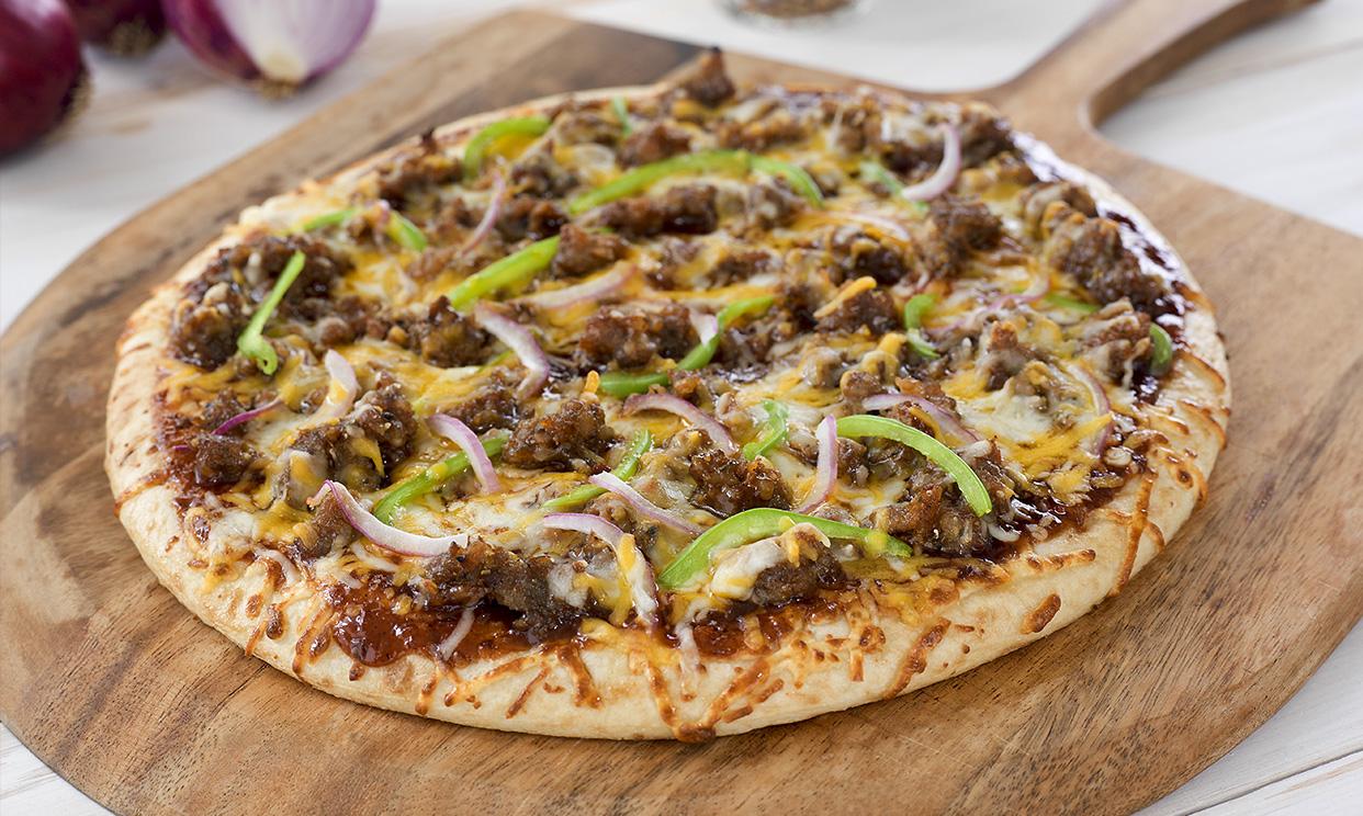 BBQ Sausage Pizza