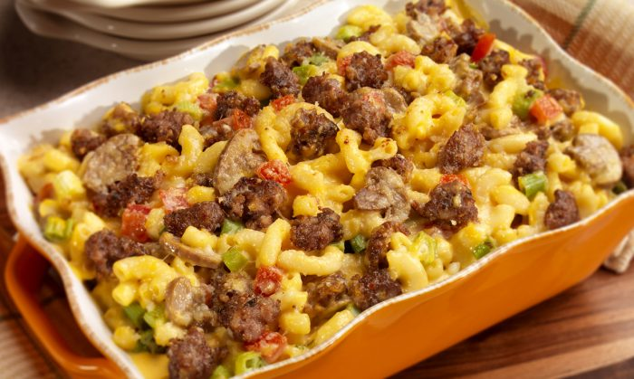 Country Sausage Macaroni & Cheese