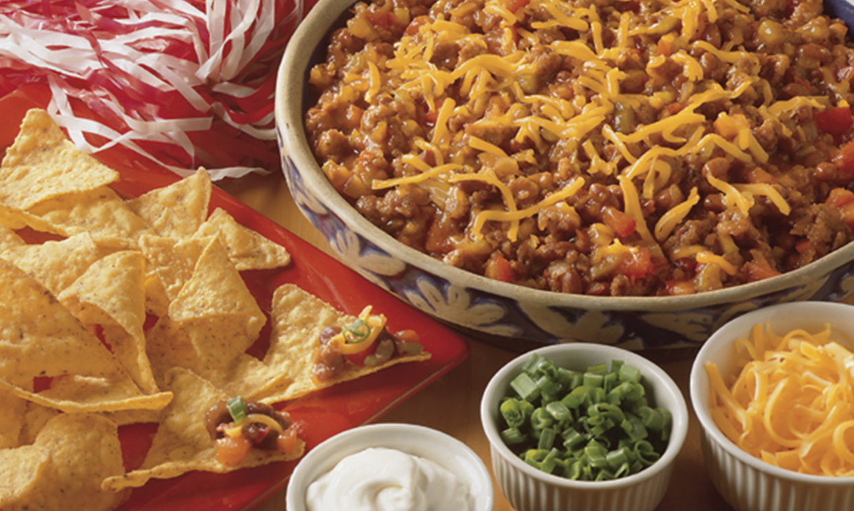 Football Party Chili Dip
