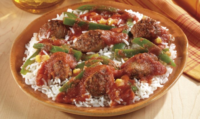Inside Out Stuffed Peppers