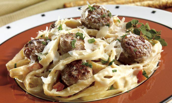 Italian Sausage Pasta Alfredo