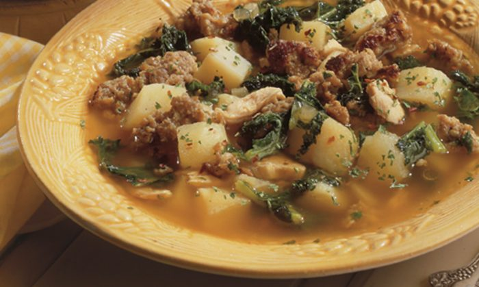 Potato Soup with Original Sausage