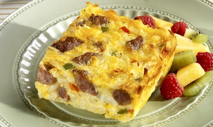 Sausage Link Frittata