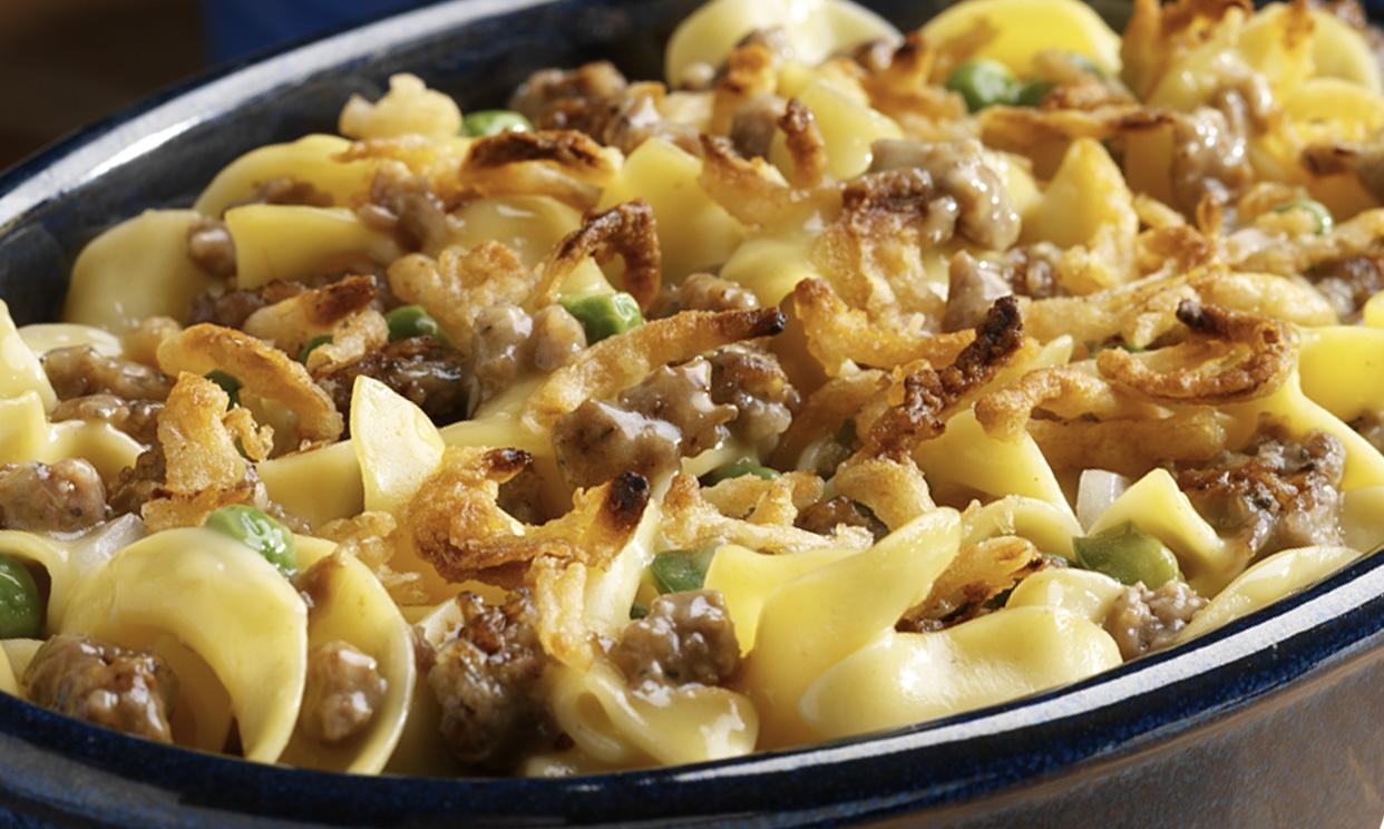 Sausage & Noodle Casserole