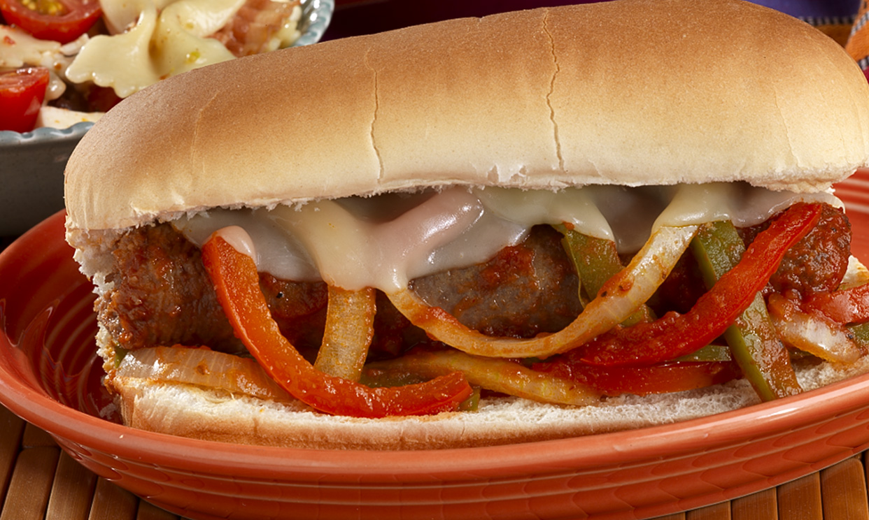 Slow Cooker Italian Sausage Subs