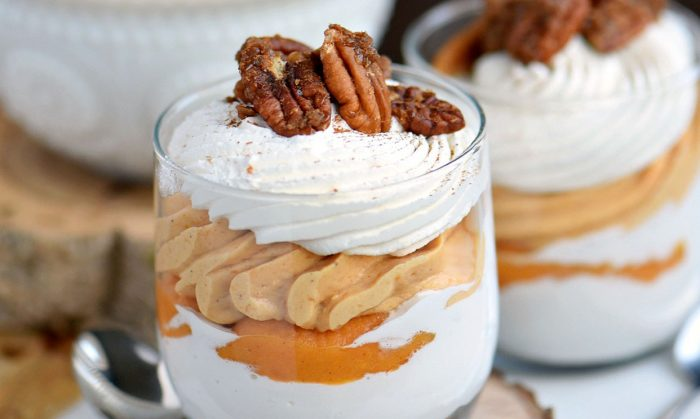 Sweet Potato Cheesecake Parfaits