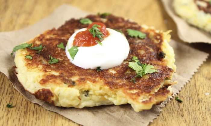 Tex Mex Potato Pancakes