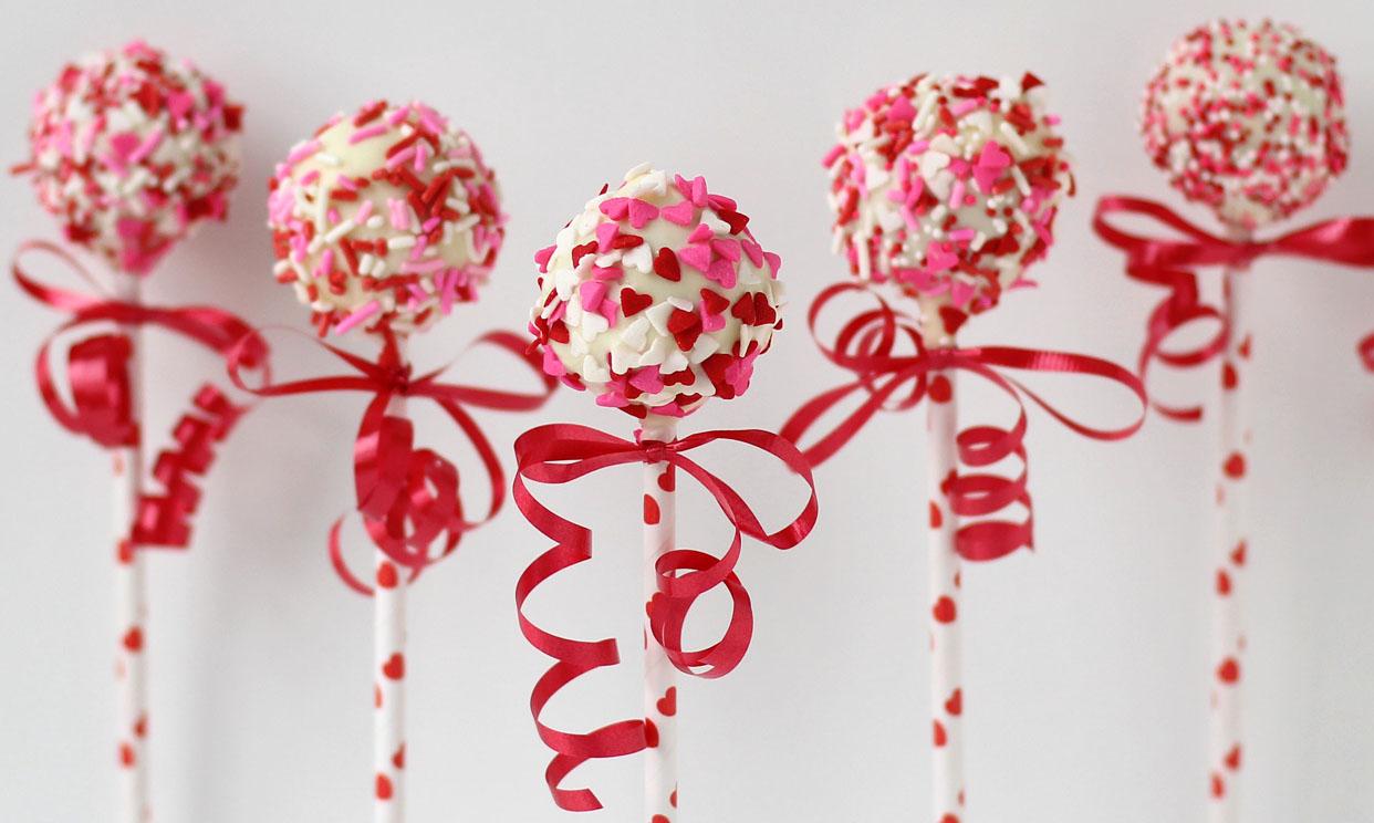 Valentine's Day Potato Candy Pops