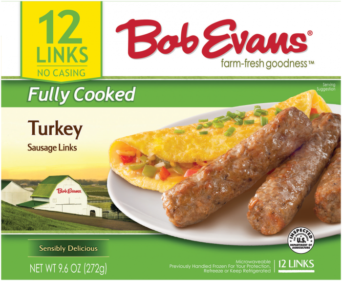 Bob Evans Fully Cooked Turkey Sausage Links