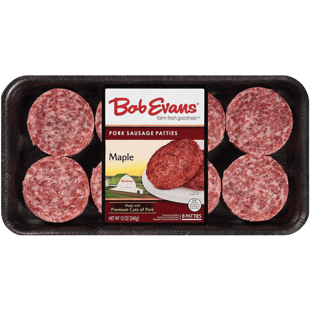 Bob Evans Maple Sausage Patties 12 oz