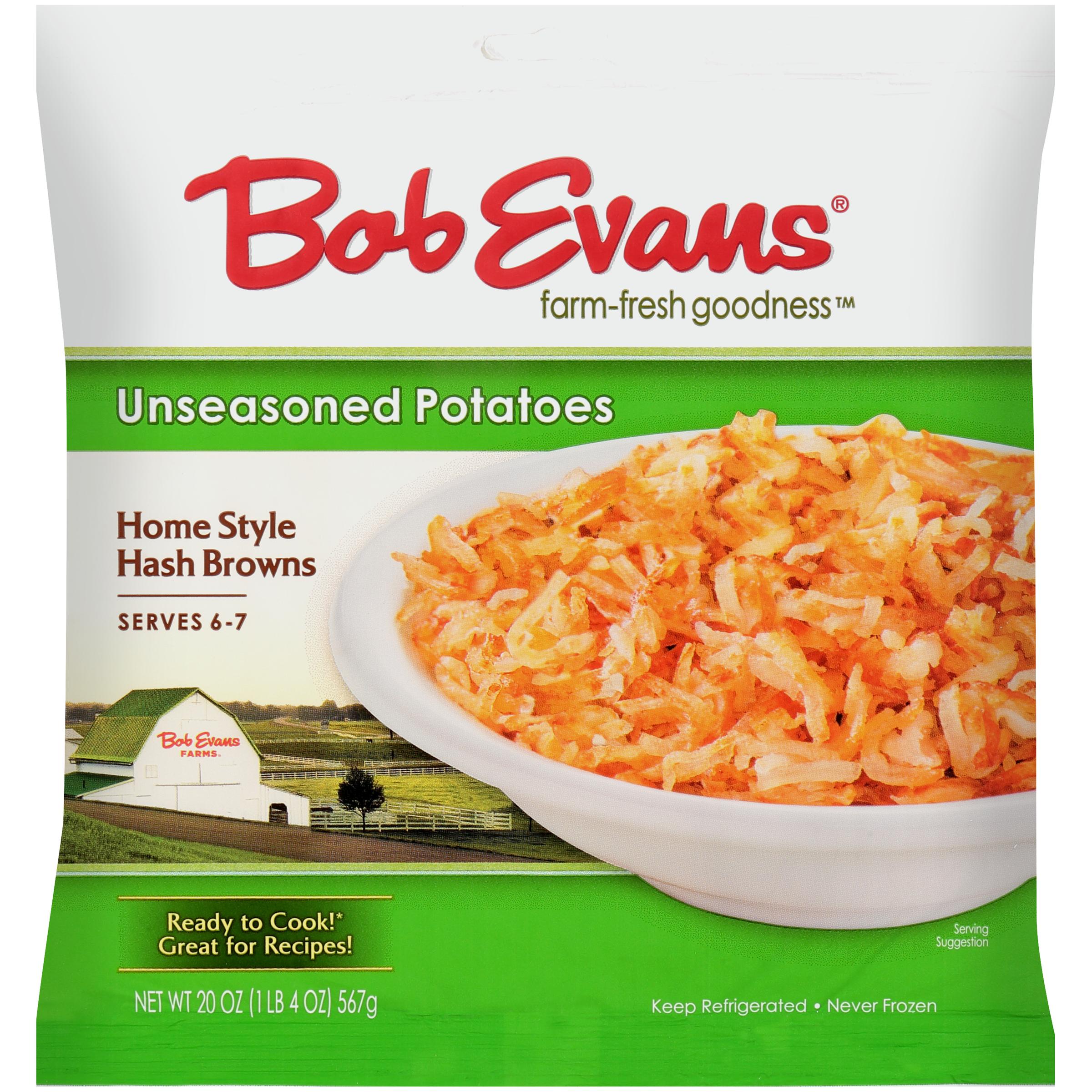 Bob Evans Home Style Hash Browns 20 oz