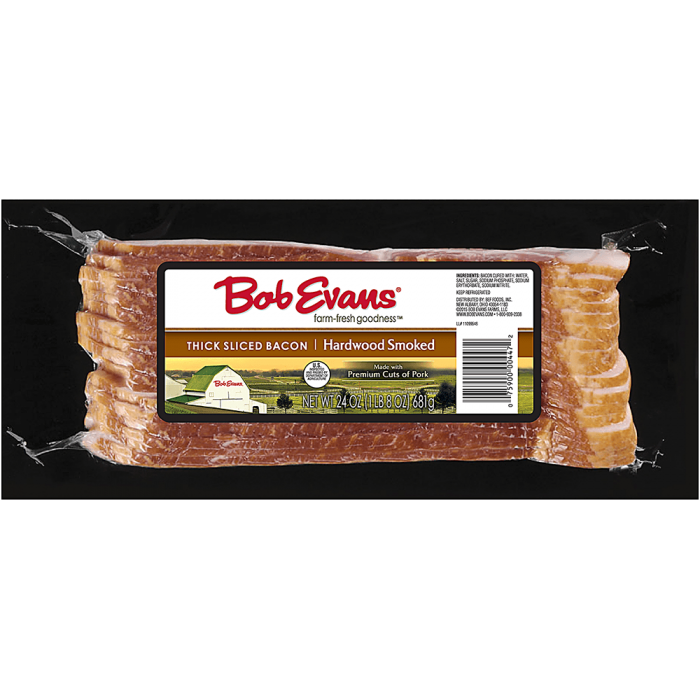 Bob Evans Thick Sliced Hardwood Smoked Bacon