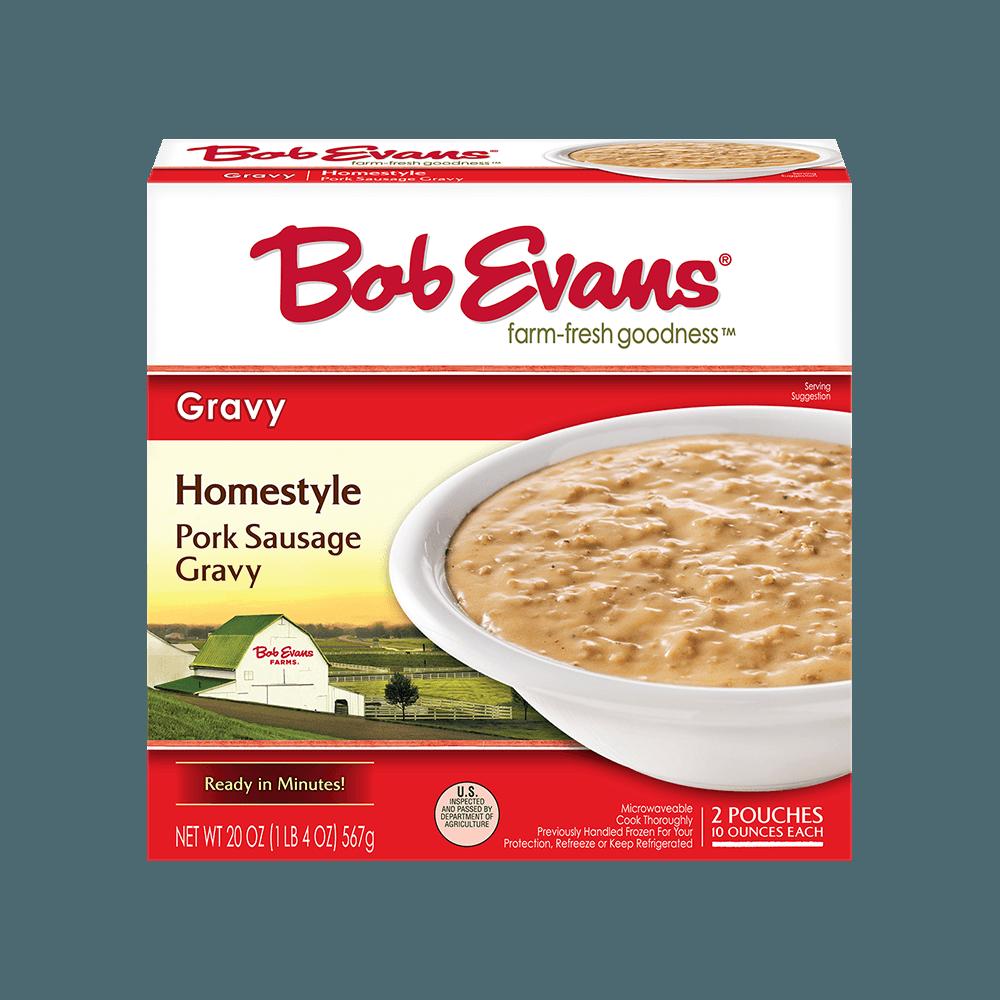 Bob Evans Refrigerated Homestyle Tan Sausage Gravy 20 oz