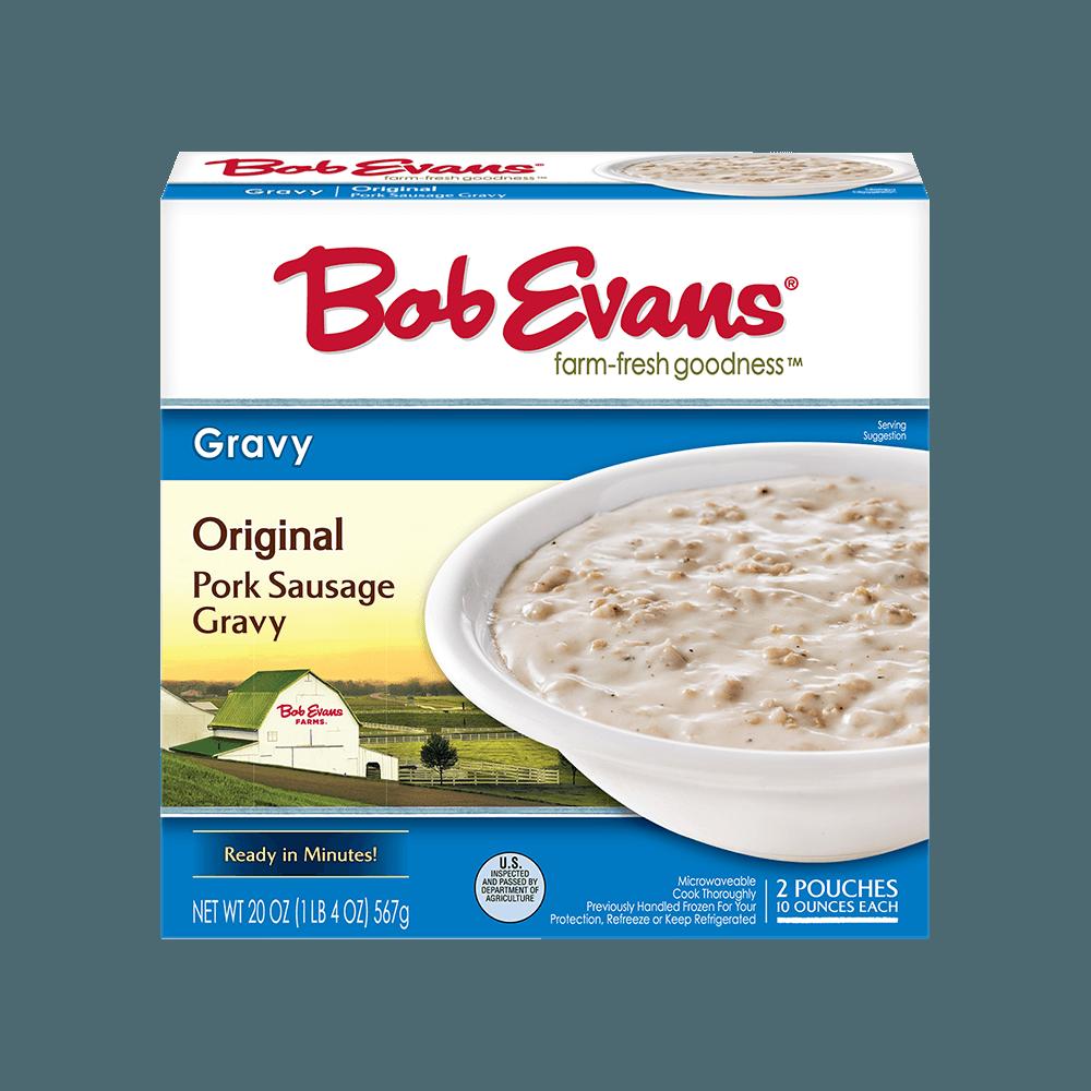 Bob Evans Refrigerated Original White Sausage Gravy 20 oz