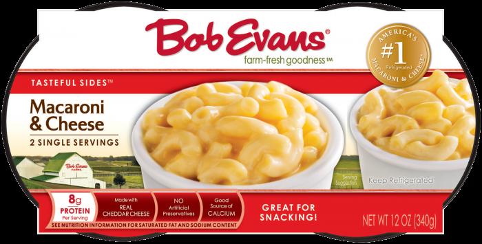 Bob Evans Macaroni and Cheese Two Singles