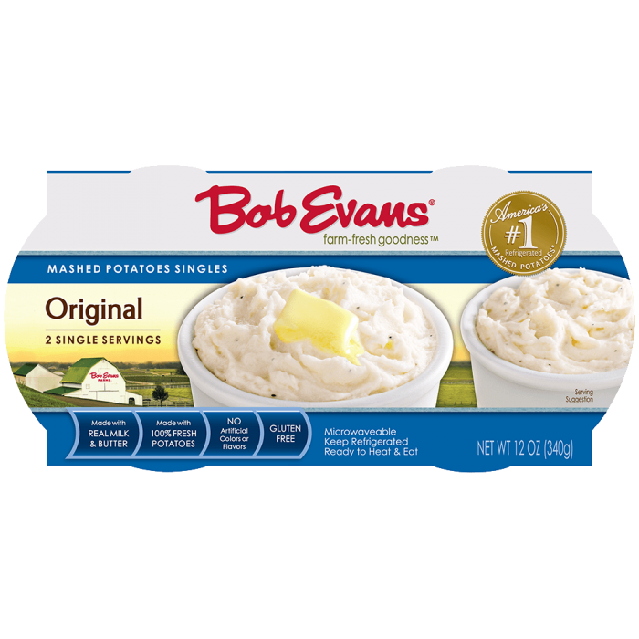 Bob Evans Original Mashed Potatoes - Bob Evans Farms on shepherd's pie, bob evans smiley face potatoes, lyonnaise potatoes, frozen sweet potatoes, ham and scalloped potatoes, duchess potatoes, apple pie, seasoned potatoes, bob evans fries, bob evans potato, russet burbank, bob evans salads, bob evans waffles, frozen scalloped potatoes, bob evans cinnamon pancake recipe, potato bread, bob evans thanksgiving menu, bob evans to go thanksgiving, pumpkin pie, homemade scalloped potatoes, pecan pie, simply potatoes, olivier salad, bangers and mash, chocolate chip cookie, oven baked scalloped potatoes, potato salad, potato chip, apple sauce, bob evans fried potatoes, green bean casserole, chicken and potatoes, idahoan potatoes, baked potato,