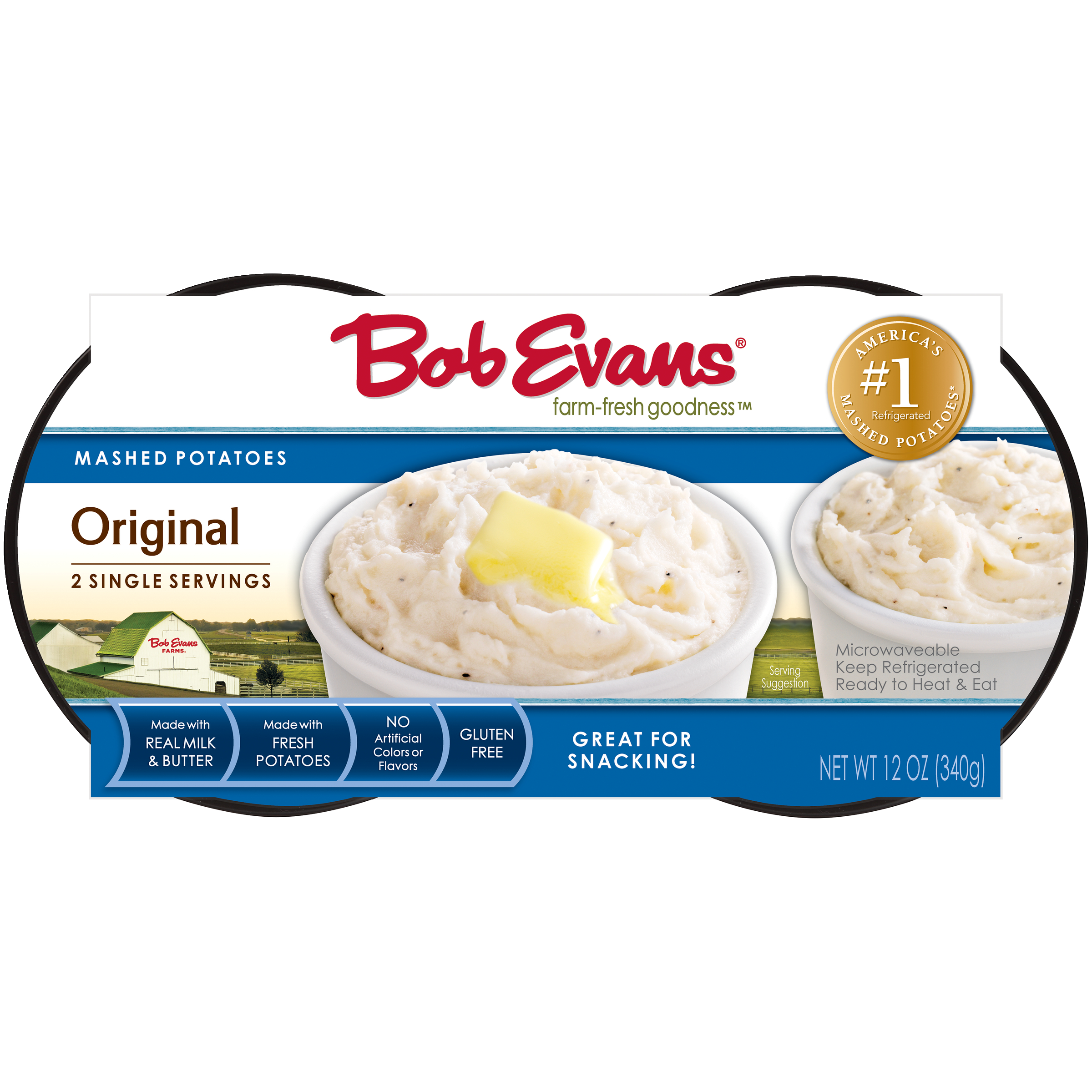 Bob Evans Original Mashed Potatoes Single Serve