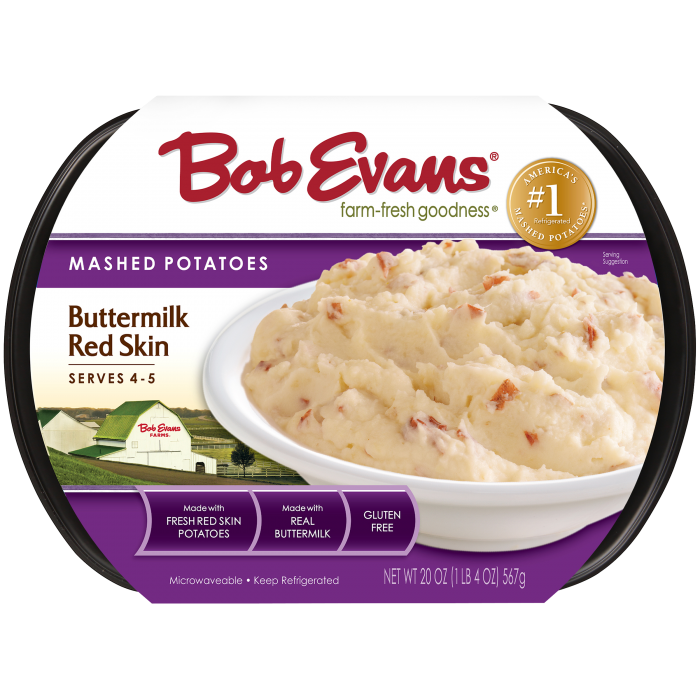 Bob Evans Buttermilk Red Skin Mashed Potatoes