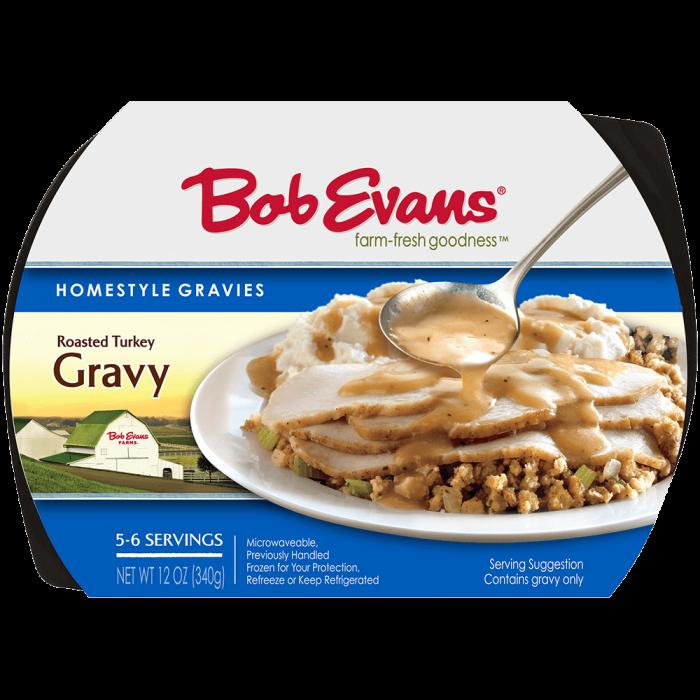 Bob Evans Roasted Turkey Gravy 12 oz