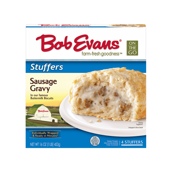 Bob Evans Sausage Gravy Stuffers