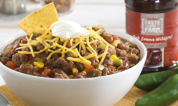 BBQ Sweet and Spicy Chili
