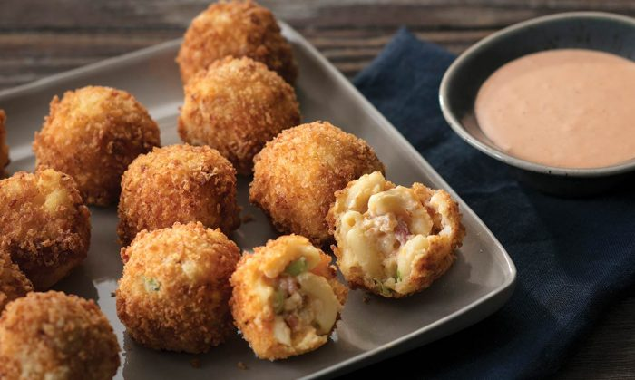 Mac N Cheese Bites