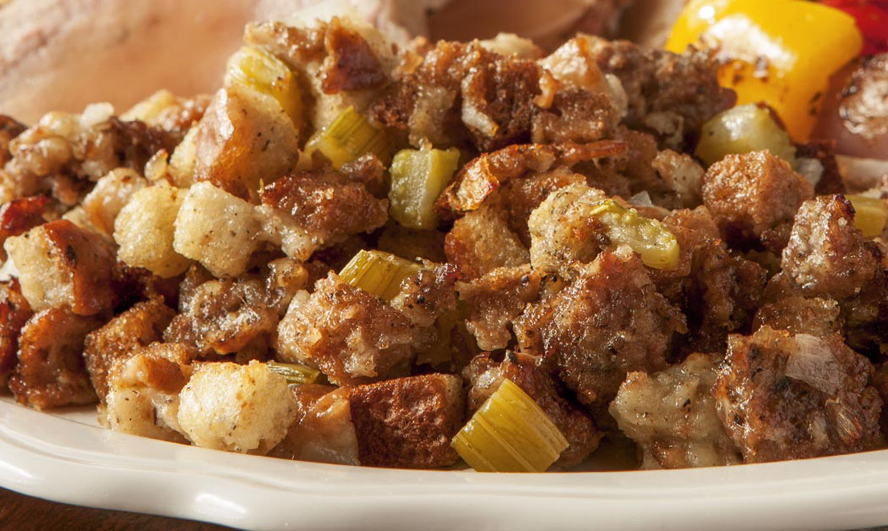 Easy Sausage Stuffing