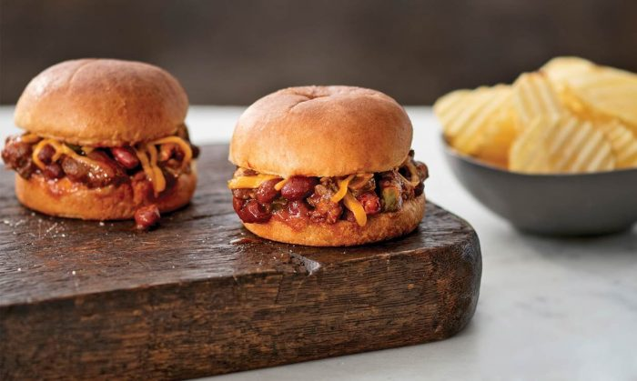 Sausage and Chili Sliders