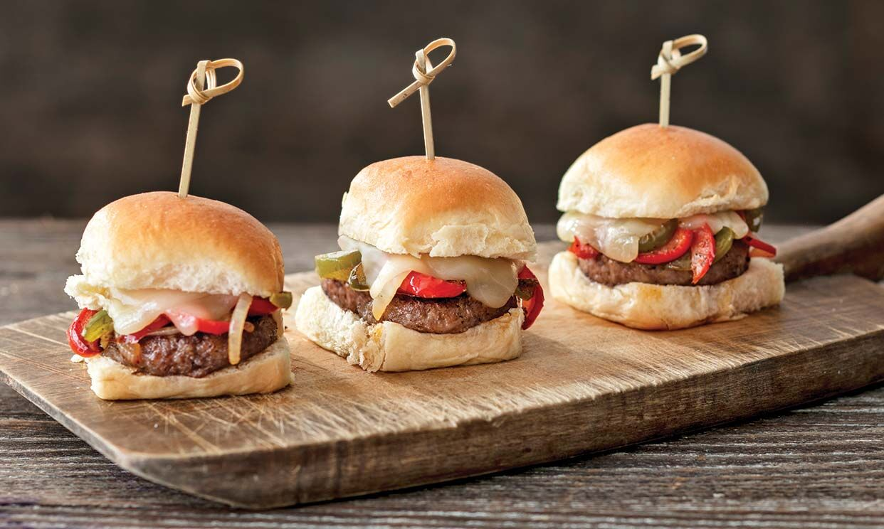 Sausage and Pepper Sliders