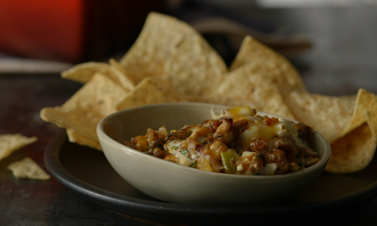 Spicy Sausage Buffalo Dip