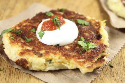 photo of Tex Mex Potato Pancakes recipe prepared