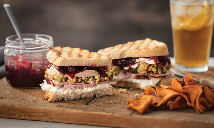 Thanksgiving Leftover Panini