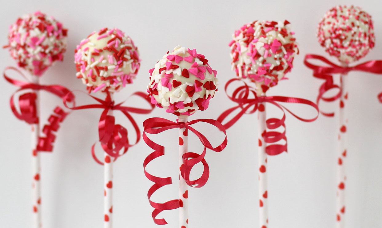 Valentine's Day Potato Candy Pops