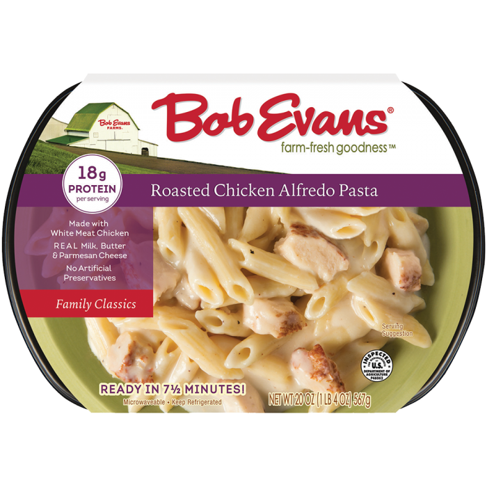 Bob Evans Roasted Chicken Alfredo Pasta