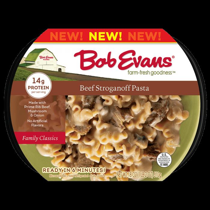 Bob Evans Beef Stroganoff