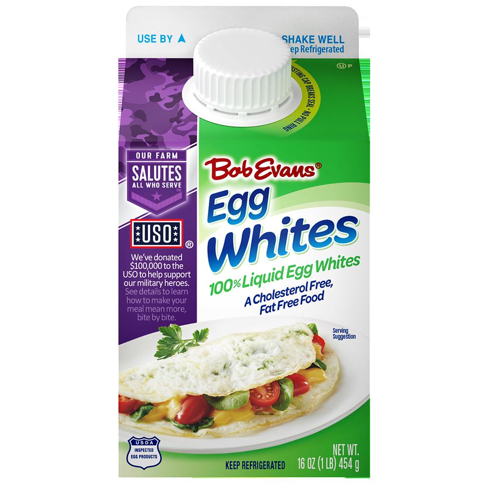Bob Evans® 100% Liquid Egg Whites 16 oz. Carton