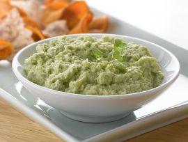 Hi-Protein Edamame Hummus