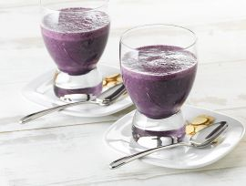 Blueberry Ginger Productivity Protein Smoothie
