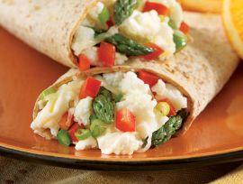Savory Veggie Scramble Wrap