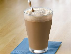 Mocha Cappuccino Protein Smoothie
