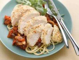 Rosemary Parmesan Chicken Cacciatore