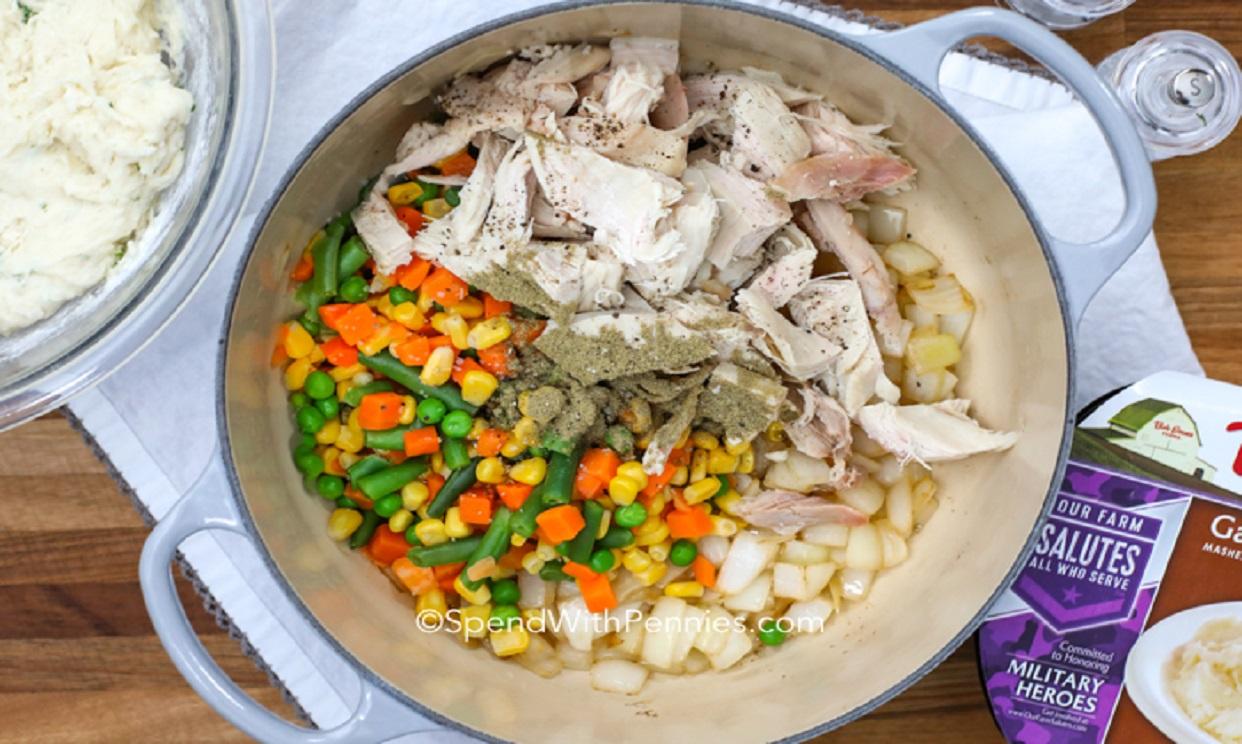 Turkey Soup and Dumplings