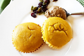 Cranberry Protein Muffins