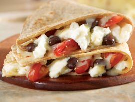 Southwestern Egg White Quesadillas